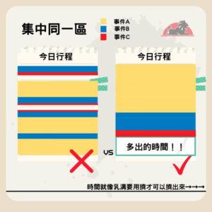學日文時間方塊